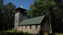 The chapel in summer