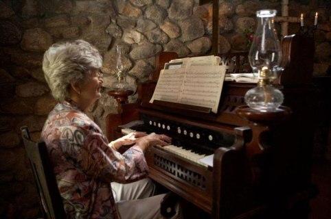 Rocking the organ